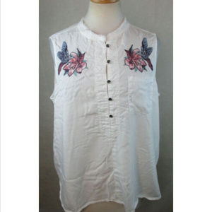 WILLIAM RAST Womens Blouse Shirt Top, Size L, NwT
